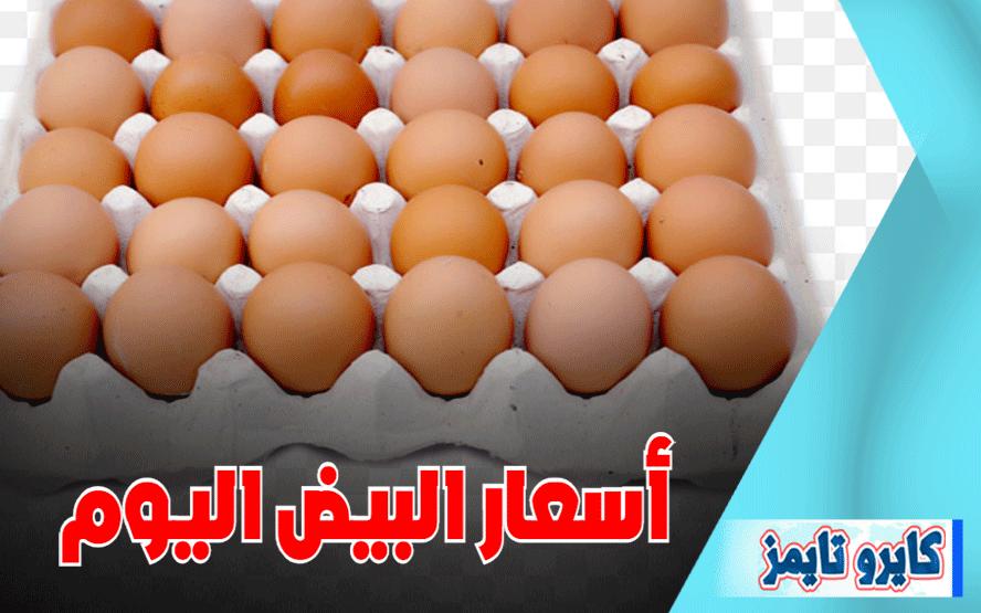 اسعار البيض اليوم الجمعة