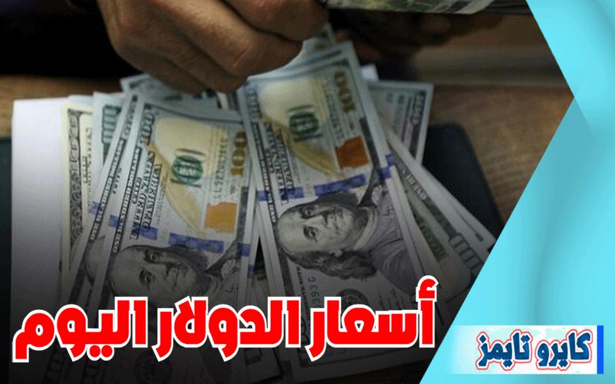 سعر الدولار اليوم في مصر الثلاثاء