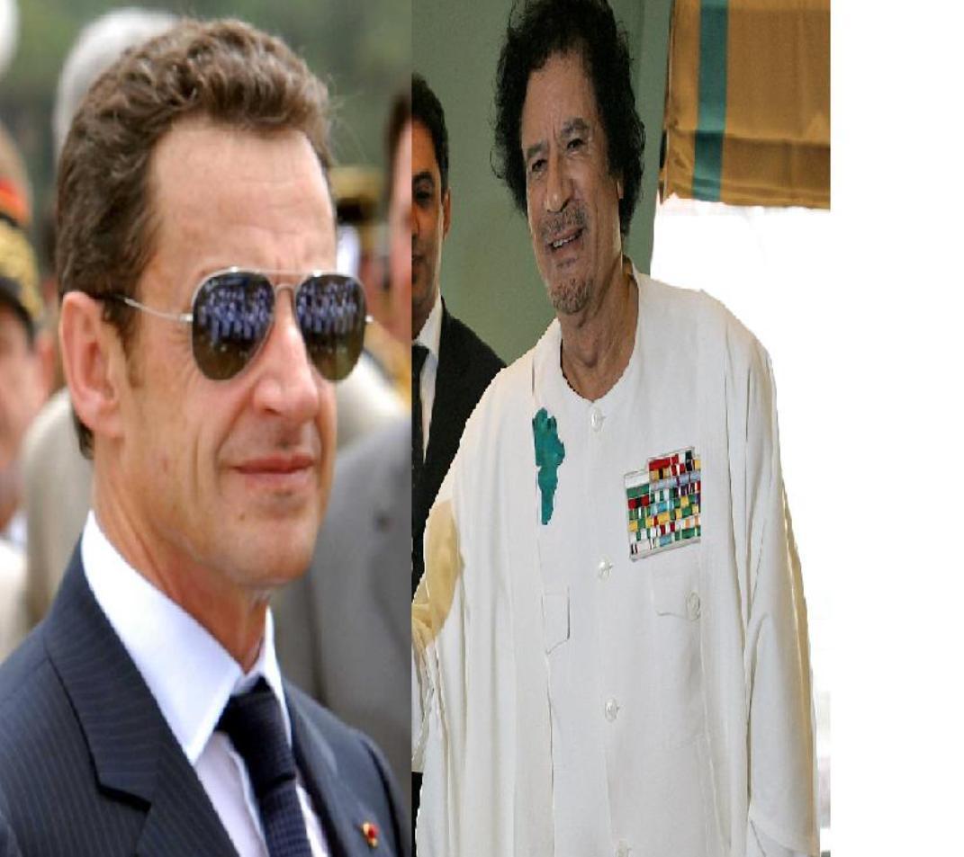 كيف أطاح ساركوزي بالقذافي