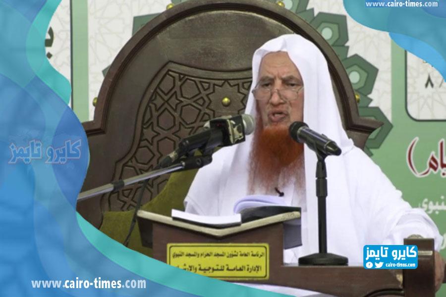 سبب وفاة الشيخ عبدالرحمن العجلان في ذمة الله