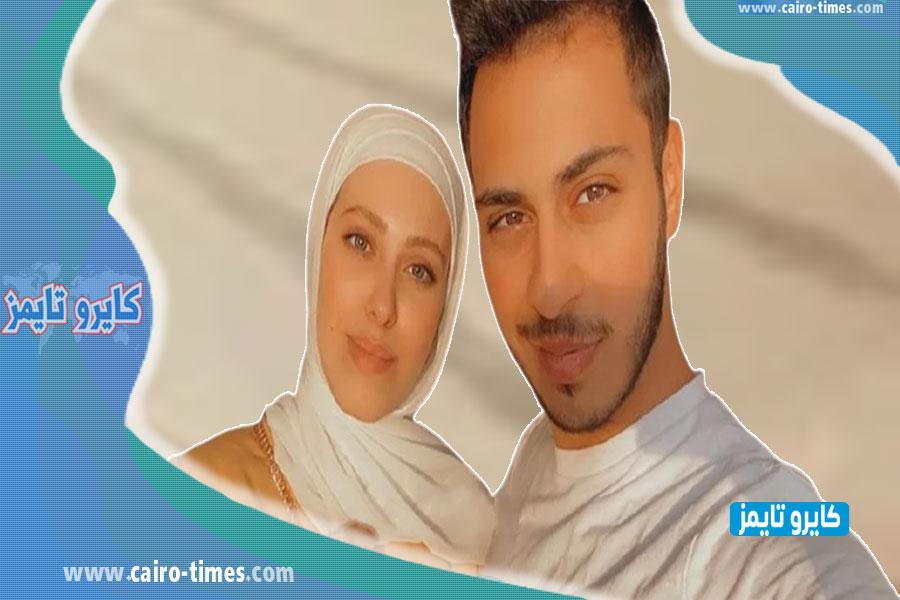 نور غسان مقداد وهي صغيره