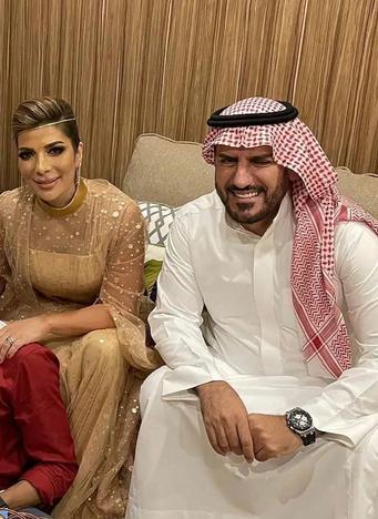فائق حسن وزوجته