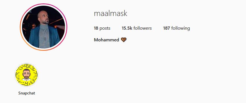 حسابات محمد الحمود