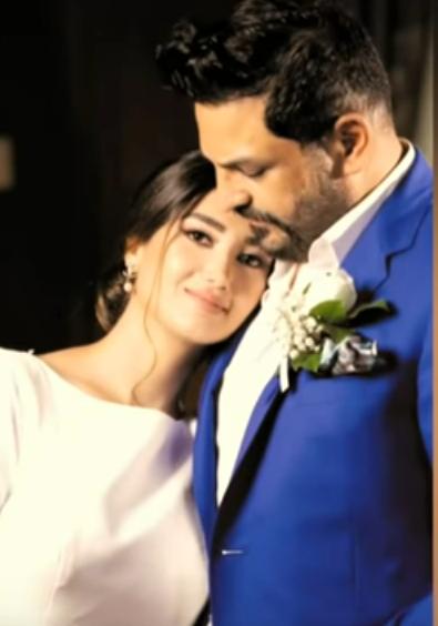 حسام الرسام وزوجته وأولاده